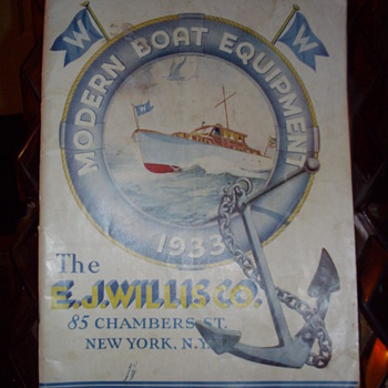 1933 Modern Boat Equipment Catalog.