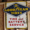 goodyear tires sign dated 6-55