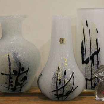 Calligraphy series by Iwata Glass