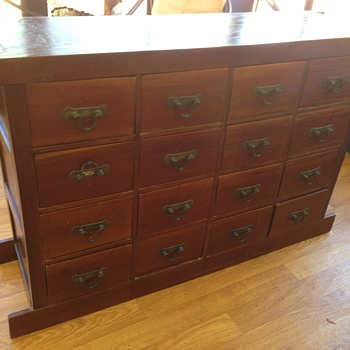 Large Apothecary chest - Furniture