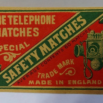 2 Matchbox Covers