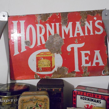Horniman's Tea Sign - Signs