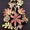 Antique enamel brooch?