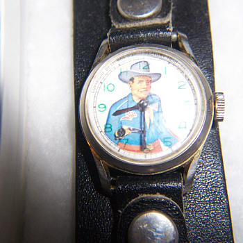 1971 Reissue of the Texas Ranger Animated Wristwatch - Wristwatches