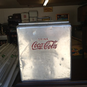 Stainless Steel Coca Cola Cooler - Coca-Cola