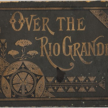 1800 Denver Rio Grande Railroad Photo Book - Railroadiana