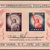 """1956 - """"Philatelic Exhibition"""" Souvenir Sheet (US)"""