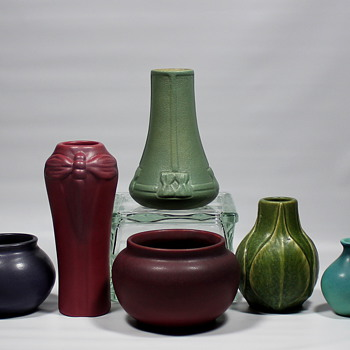 Some Van Briggle pieces... - Art Pottery