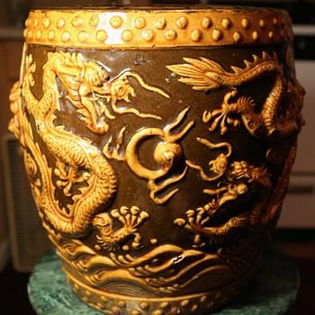 Ceramic Garden Stool - China - Asian