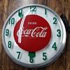 1950's Coca Cola Modern Clock Co.