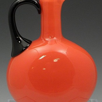 LOETZ TANGO JUG, POLISHED PONTIL MARK
