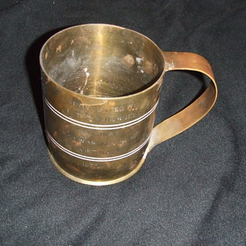 Viet Nam War trench art mug - Military and Wartime