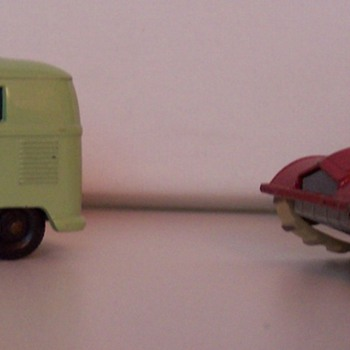 my first matchbox cars as a child