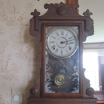 Eight Day Mantle Clock - Clocks