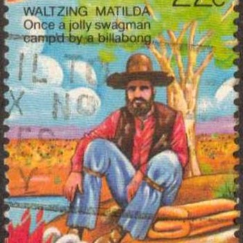 "1980 - Australia ""Waltzing Matilda"" Postage Stamps - Stamps"