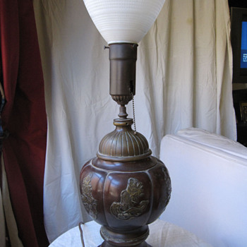 Early Bronze Lamp