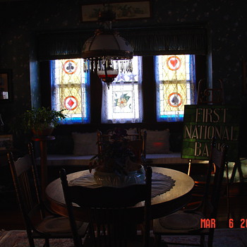 Suited Stained Glass Windows