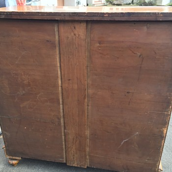 Stunning 1800s  empire large dresser
