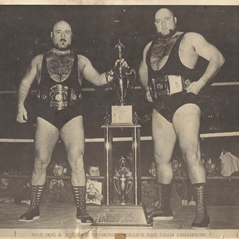 "World Tag Team Champion""Maurice Mag Dog&Butcher Vachon""30 August 1969"
