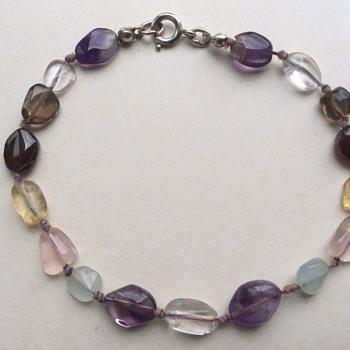 Vitage multi stone bracelet