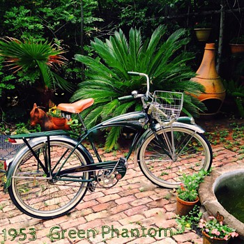 The Green Phantom Bicycle