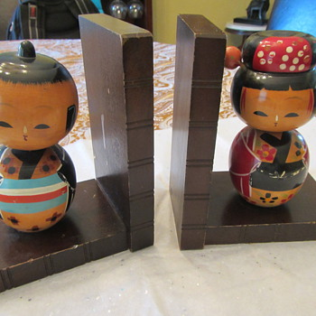 Latest Kokeshi Additions - Dolls