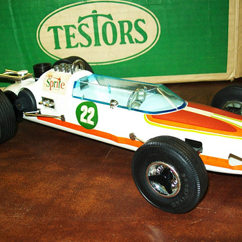 Testors Sprite car