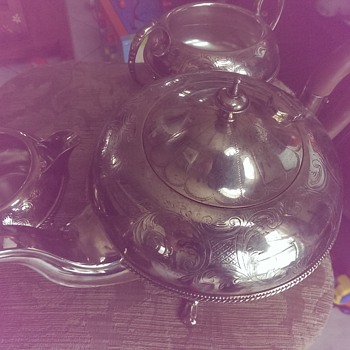 sterling tea set need information