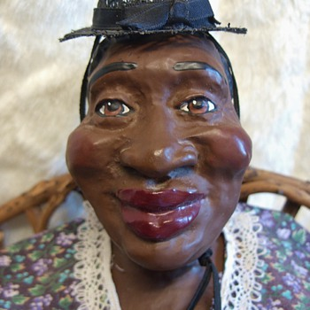 """Big Mama""  Clay / Ceramic Doll"