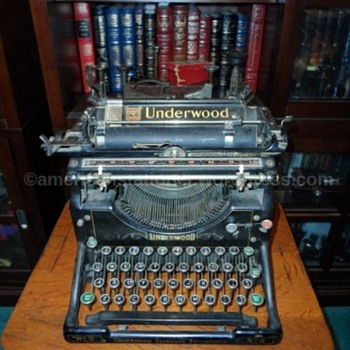 Underwood No. 5 Typewriter