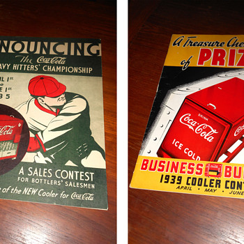 Some close up photos of what's on my Coke room shelves... - Coca-Cola