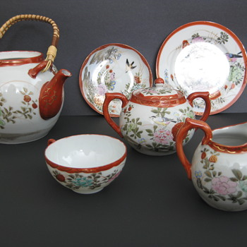 Kutani tea set - no information
