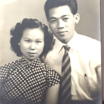 My beloved grandparents