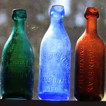 ~~~Savannah Mineral Water's~~~ - Bottles