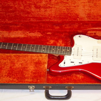 Fender Jazzmaster 1964/1965 Candy Apple Red - Guitars