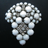 Milk Glass Brooch Mystery