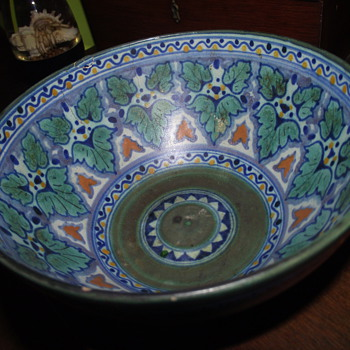 Grandmother's Art Pottery Bowl--Holland? - Art Pottery