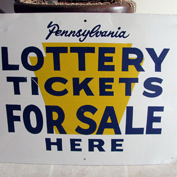 PA Lottery Sign - Signs