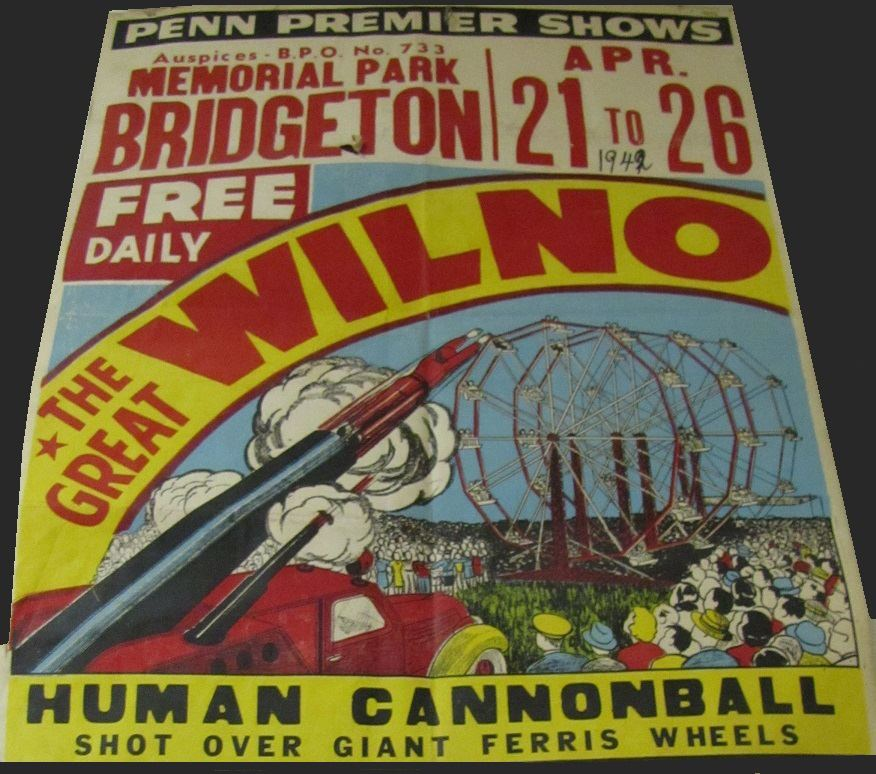 """Circus Posters featuring """"The Great Wilno"""" - Human ... 