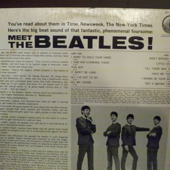 my meet the beetles album - Records