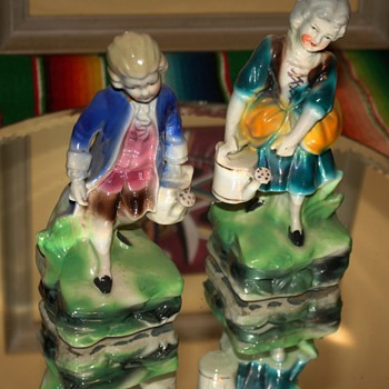 What are these figurines called? how old are they? any info? - Victorian Era
