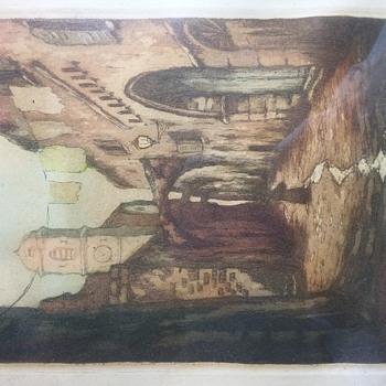 Trying to Identify Artist - Visual Art