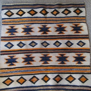 Navajo saddle blanket/rug circa 1920's