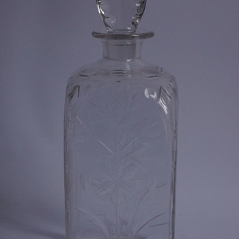 Whitefriars Square Spanish Cut Decanter