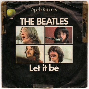 "45rpm Record - ""The Beatles"" (1970) - Records"