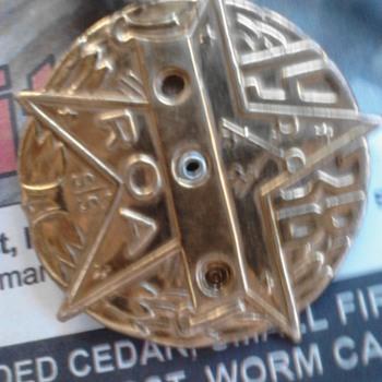 1938 R.O.A. 3 PIECE SPIN dials metal