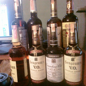 All unopened bottled dated 1971 1973 1974 some of the other dont have dates.