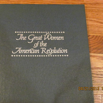 Franklin Mint The Great Woman of the American Revolution