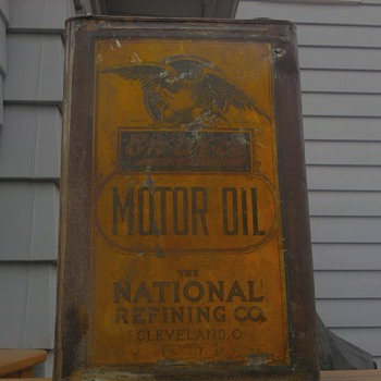 Pre 1921 En-Ar-Co Oil Can