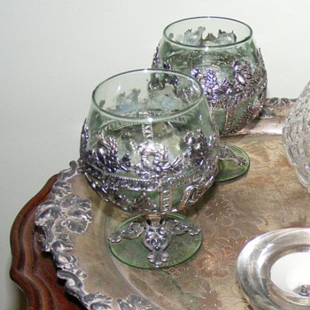 Antique russian brandy glasses? - Glassware